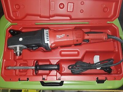 "Milwaukee 1/2"" Super Hawg Right Angle Drill 1680-20 w/ Case"
