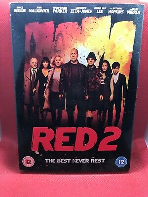 Red 2 DVD - NEW AND SEALED - FREE P&P! UK ONLY #C 3