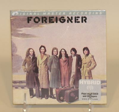 Foreigner S/T Super Audio CD SACD Brand New Sealed LE #2261