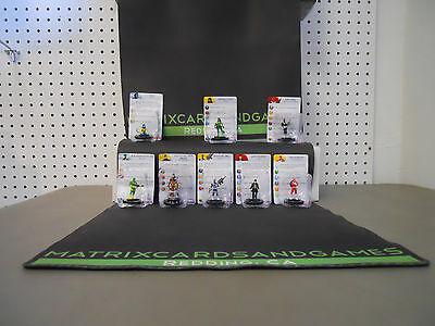 Heroclix mixed lot  -Matrix Cards and Games-