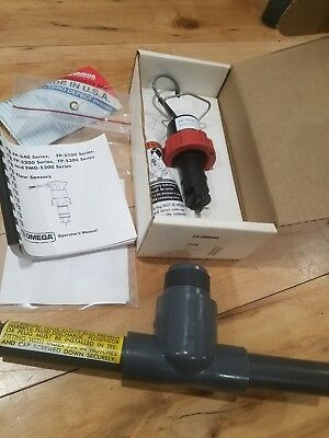 Omega Paddle Flow Meter FP5300 With FP-5307 housing NEW