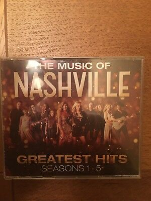 The Music Of Nashville: Greatest Hits Seasons 1-5 3 CD Music Box Set 2017