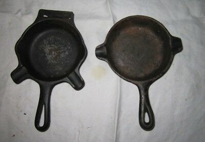 Vintage/Antique Wagner/Griswold Cast Iron Advertising Ashtrays