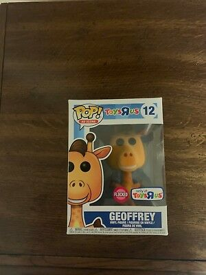 Funko Pop! Ad Icons Toys R Us Exclusive Geoffrey FLOCKED #12