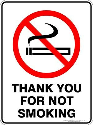 Prohibition Signs -  THANK YOU FOR NOT SMOKING