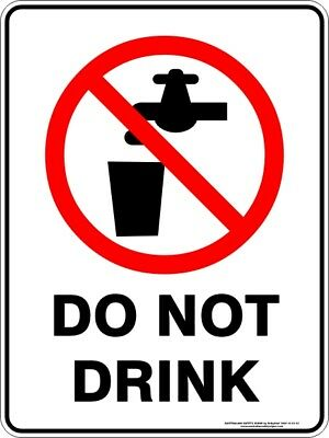 Prohibition Signs -  DO NOT DRINK