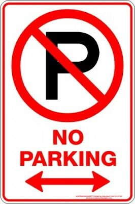 Parking Signs -  NO PARKING P SPAN ARROW