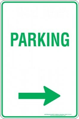 Parking Signs -  PARKING ARROW RIGHT