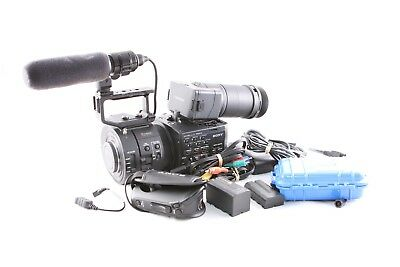 Sony NEX-FS700 Camera with Accessories and Custom Hard Case - 430 Hours