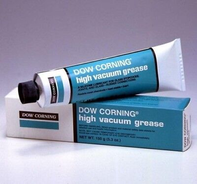 DOW CORNING Silicone High Vacuum Grease for Vacuum Applications - 5.3 Oz. Tube