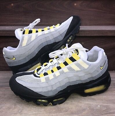 the best attitude 64c05 dfd14 NIKE AIR MAX 95 Tour Yellow Grey SZ 9 OG 2011 Release 609048-105