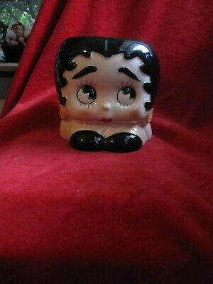 Vintage Betty Boop Hand Painted Mug 1981 Made in Japan