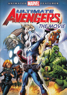 Ultimate Avengers - The Movie (Dvd)