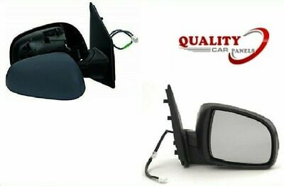Toyota iQ Hatchback 2009-2013 Electric Wing Door Mirror Primed Right Off Side