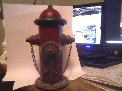 plastic fire hydrant bank 9inhes tall