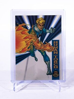 Human Torch 1994 Marvel Universe Suspended Animation Card #2 Mint