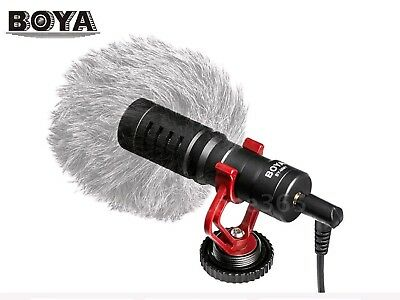 BOYA BY-MM1 Video Mic Microphone Condensor for DSLR Camera Camcorder