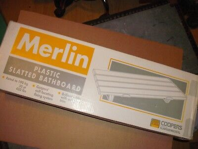 Merlin 27inch Slatted Bath Board seat      Never used   Boxed