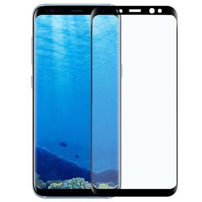 2x Panzer Folie 3D für Samsung Galaxy S8 Plus Display Schutz Folie Full Cover