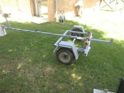 Boat trailer.. Good Condition. With brand new light board.