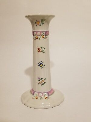 """Laura Ashley ALICE 7"""" Ceramic Candlestick, Made in England, EXCELLENT CONDITION!"""