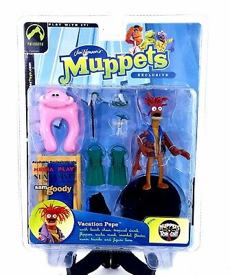 NEW Palisades Muppets Tonight ToyFare Exclusive Vacation Pepe 2003 Scuba Chair