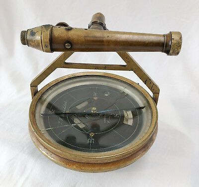 Circa 1880 Randolph Surveying Compass