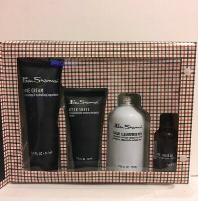 Ben Sherman Complete Shave Kit Special 4pcs Set