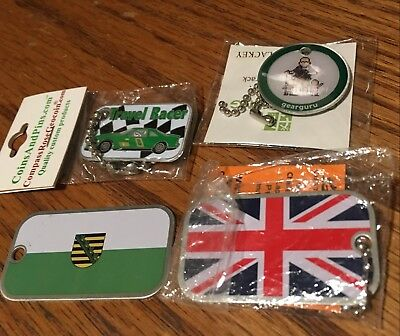 FOUR Trackable Travel Bugs for Geocaching Unactivated