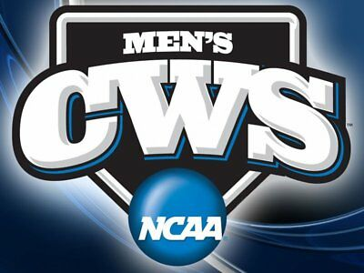 NCAA Men's Baseball College World Series General Admission Tickets - GA 1,2,3,4