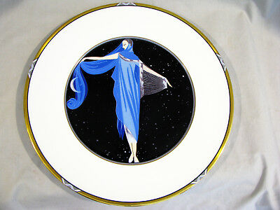 """Mikasa ERTE COLLECTOR PLATE - """"MOONLIGHT"""" UH200 - WEST GERMANY"""