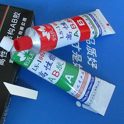 2Pcs Super Strong Epoxy Clear Adhesive A+B Glue For Bond Metal Plastic Wooden