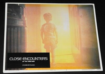 CLOSE ENCOUNTERS OF THE 3RD KIND orig 1977 Lobby Card #2  EXC. cond.