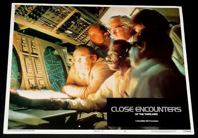 CLOSE ENCOUNTERS OF THE 3RD KIND orig 1977 Lobby Card #8