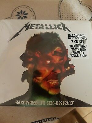 Metallica Hardwired To Self Destruct Download - 2 CD SET - BRAND NEW SEALED