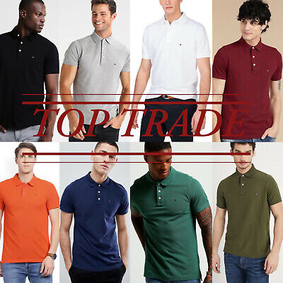 Tommy Hilfiger Polo Short Sleeve ✅100% Cotton Collared Neck Tshirt