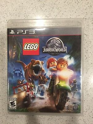 LEGO Jurassic World PS4 (Sony PlayStation 4, 2015) - AUTHENTIC!! CIB!! TESTED!!