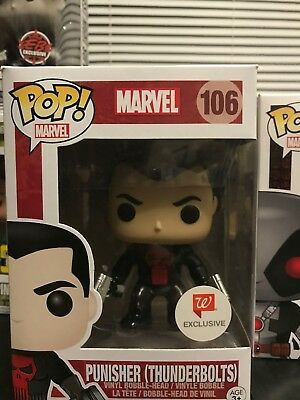 Funko POP! Marvel PUNISHER (THUNDERBOLTS) #106 Walgreens Exclusive Vinyl Figure