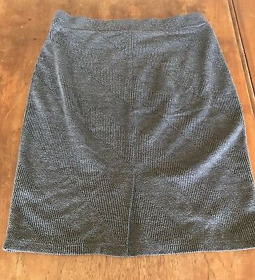Rockmans Grey Maternity Work Skirt Size M