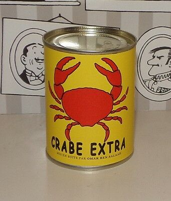 Boite Crabe Tintin Le Crabe Aux Pinces D'or Tbe
