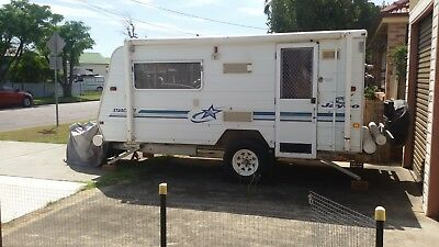 """Jayco starcraft """"outback."""" 1999 . Rego and in Good Condition. Tough, and Strong."""