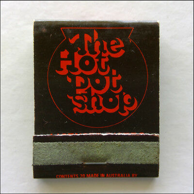 The Hot Pot Shop 440 Clarendon St South Melbourne 6901977 Matchbook (MK46)