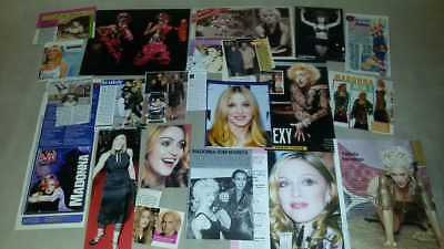 Lots Madonna Magazine Small Cuttings Clippings Not Full Pages Adverts Set#3