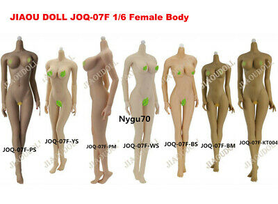 "JIAOU DOLL 1/6 Female Flexible Body Figure Model Big Bust Toy 12"" Action JOQ-07F"
