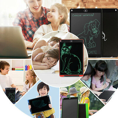 """Electronic 12"""" Handwriting Pad Graphics Painting Tablet Kids Learning Board Toy"""