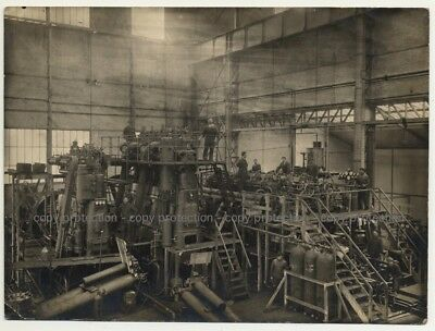 Overview Over Industrial Hall (Vintage Photo Atelier Pro-Pra B/W 1920s)