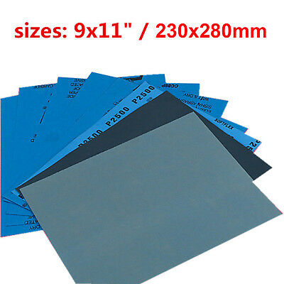 120-7000 Grit Sand Paper Sheets Fine Medium Home Coarse Wet Dry Use Sandpaper