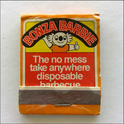 Bonza Barbie Disposable Barbeque Balcorp 053357262 Matchbook (MK46)