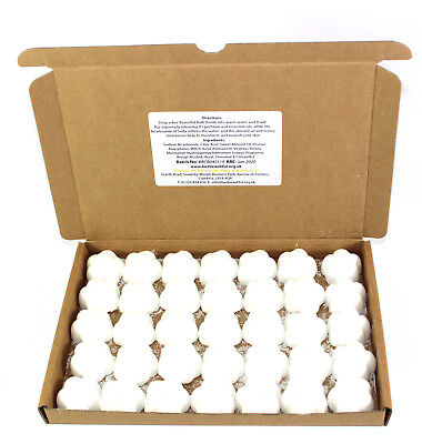 Bath Bombs Baby Powder scented Flowers Bee Beautiful reduced plastic 35 x 10g