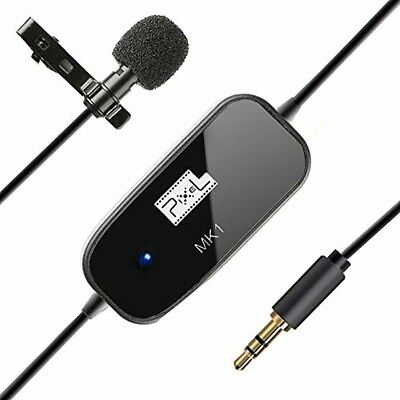 "Professional Grade Lavalier Lapel Microphone 236"" Clip On Omnidirectional Pick U"